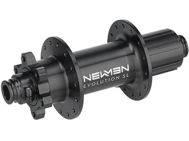 NEWMEN MTB SL Moyeu arrière 12x157 mm J-Bend 6 boulons Shimano, black anodized/grey